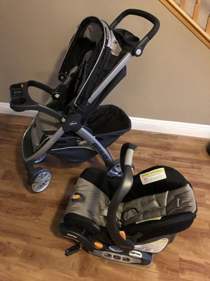 Chico Bravo Stroller and Car Seat for Sale in Henderson, NV