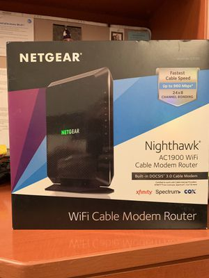 Cable modem and router for Sale in Pembroke Pines, FL