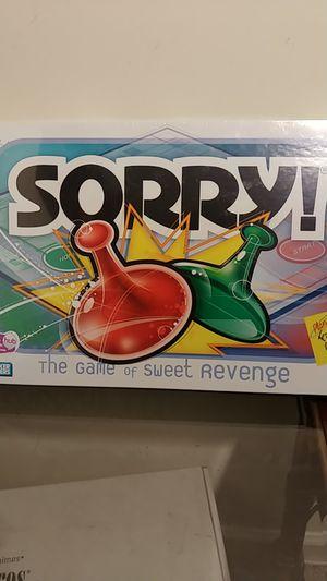 Sorry board game for Sale in Marietta, GA