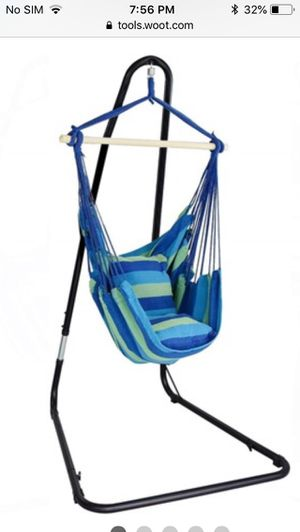 Hammock Chair Stand Adjustable for Sale in Irving, TX