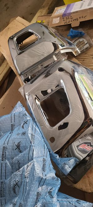 Toyota Tundra Chrome - Front Bumper, Mirror Covers, Door Handles, Emblems for Sale in Pittsburgh, PA