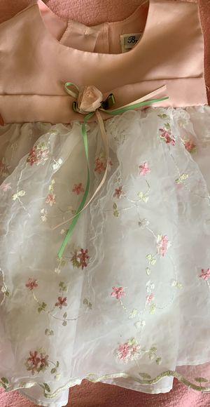 Cute flower dress size 3-6 months for Sale in East Wenatchee, WA