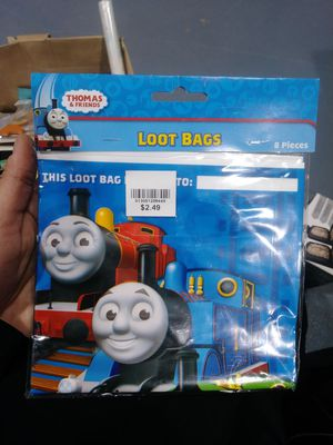 Thomas and friends 8 piece loot bags for Sale in Dearborn, MI