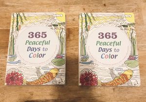 365 Peaceful Days to Color Coloring Book *Great Children & Adults! for Sale in Richmond, VA