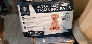 American Kennel Club Pet Training and Puppy Pads, Regular and Extra Large for Sale in Las Vegas, NV
