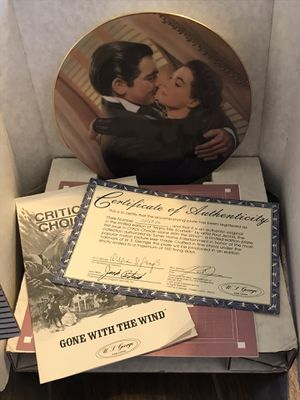 Gone with the wind collectors plate for Sale in Santa Maria, CA