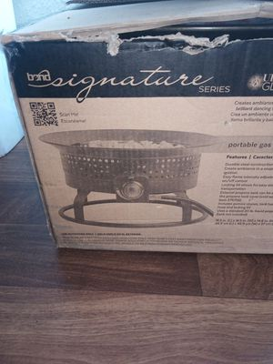 Portable gas fire pit for Sale in Jurupa Valley, CA