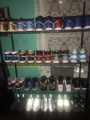 Nike Air Jordan's x off white x yeezys x supreme all size 13-14 for Sale in Falls Church, VA