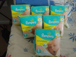 Size 1 diapers for Sale in Manassas, VA