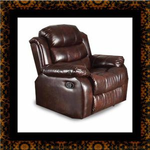 Burgundy recliner chair for Sale in Rockville, MD