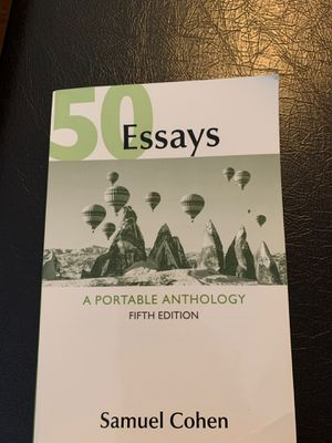 50 Essays: A Portable Anthology for Sale in Yancey Mills, VA