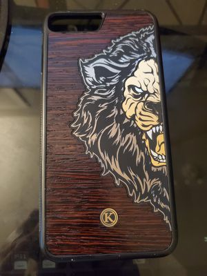 Keyway Leon-Orozco Design Handmade Wooden iPhone 8 Plus Case for Sale in North Fond du Lac, WI