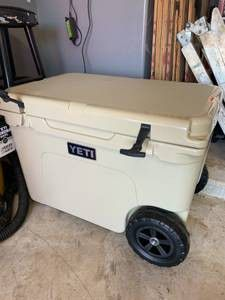yeti cooler with wheels haul edition brand new for Sale in Nauvoo, AL