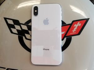 Unlocked White iPhone X 64 GB for Sale in Port St. Lucie, FL