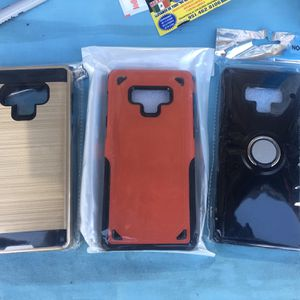 Galaxy Note 9 Cases Hybrid Cilicon And Hard Case for Sale in Moreno Valley, CA