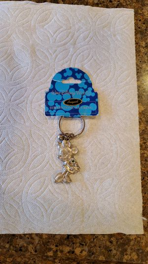 Vintage Disney Minnie Mouse August birthstone key chain for Sale in Port Orchard, WA