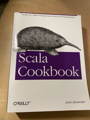 Scala Cookbook for Sale in Mountain View, CA