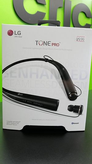 LG Tone Pro Headset for Sale in Memphis, TN