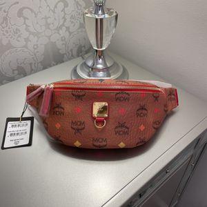 MCM Fursten Skyoptic Small Cognac Bag for Sale in Crofton, MD