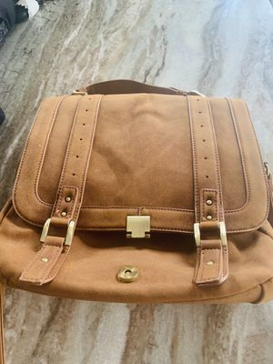 Suede messenger bag for Sale in Macomb, MI