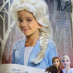 Kids Girls Elsa Frozen 2 Hair Wig Pretend Dress Up for Sale in Huntington Beach, CA