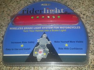 Wireless Brake Light system for Motorcycle Helmet. for Sale in Boston, MA