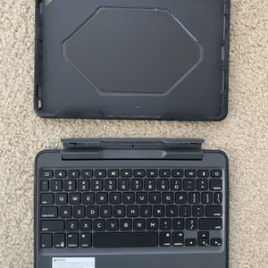 ZAGG RUGGED BOOK MAGNETIC-HINGED KEYBOARD AND CASE FOR iPAD for Sale in Santee, CA