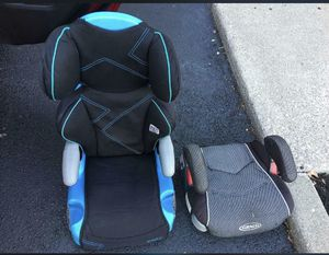 Car seat and booster for Sale in Columbus, OH