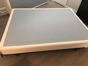 Queen size Bed frame and bed rail for sale!!! for Sale in San Carlos, CA