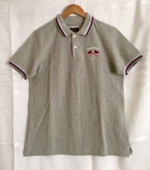 Splash Regular Fit Polo T-Shirt, Solid Grey, Embroidered, Size M for Sale in Alpharetta, GA
