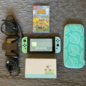 Nintendo Switch Animal Crossing Edition for Sale in Homestead, FL