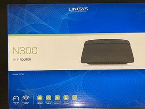 Linksys N300 wifi- Wireless Router E1200 for Sale in Arlington, VA