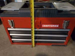 Red craftsman tool box for Sale in Highland, CA