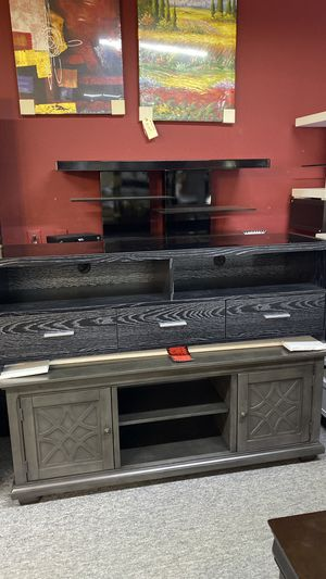 Tv Stands All Sizes for your TV Available today OH47P for Sale in Euless, TX