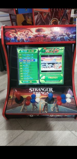 Bartop Arcade with 845 different video games Street Fighter TMNT KOF and many more for Sale in Arlington, TX