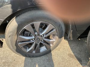 honda accord rims and tire 205/65 R 16 95H.. for Sale in Boston, MA