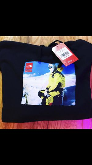 Supreme x TNF collaboration SIZE XL . Photo hoodie 🔥 for Sale in Bothell, WA