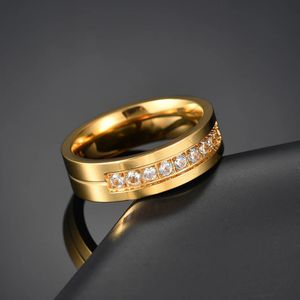 Unisex 18K Gold plated Engagement Ring- Code RI3 for Sale in Brooklyn, NY