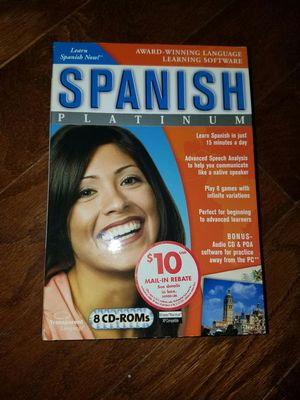 Learn Spanish never opened for Sale in Cary, NC