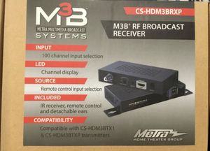M3B RF Broadcast receiver for Sale in Ormond Beach, FL