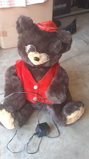Brown electric moving Teddy bear for Sale in Westminster, CA