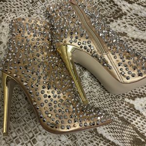 Embellished Gold Heels for Sale in Las Vegas, NV