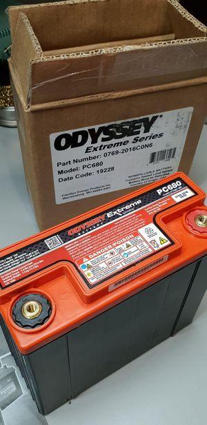 Brand new Odyssey battery , Model # PC 680 great for ATV / UTV / Motorcycle or misc.... for Sale in Bell Gardens, CA