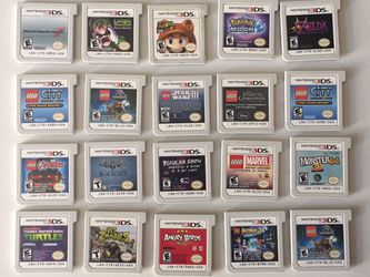"Nintendo 3ds Games ""prices vary"" for Sale in Anaheim,  CA"