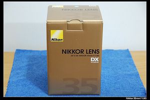 NEW Nikon AF-S DX NIKKOR 35mm F1.8G -Black (2183) for Sale in Bolingbrook, IL