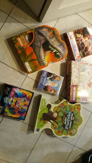 Puzzles,games for Sale in Niles, IL