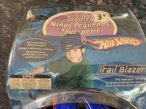 Hot wheels helmet and pads NEW for Sale in Alexandria, VA