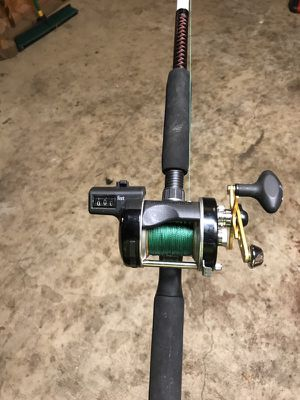 Abu Garcia line counter reel for Sale in Mount Vernon, OH