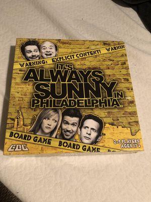 It's Always Sunny trivia board game RARE! $15 OBO for Sale in Orlando, FL