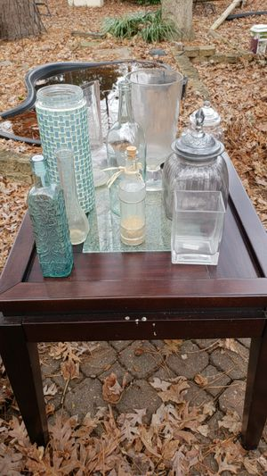 Lot of glass vases and bottles 10 total for Sale in Newport News, VA